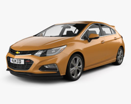Chevrolet Cruze Hatchback RS 2017 3D model