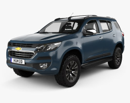 Chevrolet TrailBlazer 2016 3D model