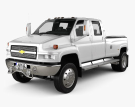 Chevrolet Kodiak C4500 Crew Cab Pickup 2006 3D model