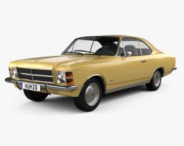 Chevrolet Opala Coupe 1978 3D model