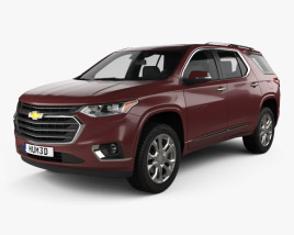 Chevrolet Traverse 2017 3D model