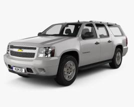 Chevrolet Suburban LT 2007 3D model