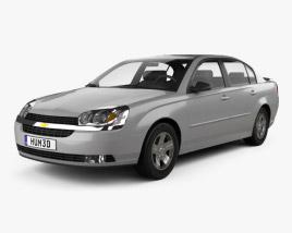 Chevrolet Malibu 2004 3D model