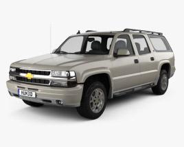 Chevrolet Suburban LT 2005 3D model