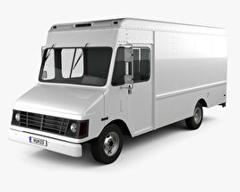 Chevrolet P30 Van 1995 3D model