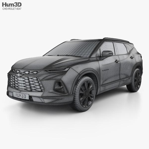 Chevrolet Blazer Rs 2019 3d Model Vehicles On Hum3d