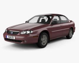 Chevrolet Malibu 1996 3D model