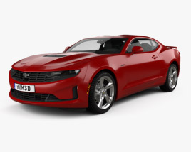 Chevrolet Camaro coupe LT1 2020 3D model