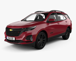 Chevrolet Equinox RS 2020 3D model