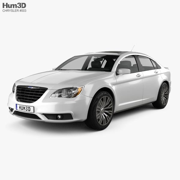 Chrysler 200 Sedan 2011 3D Model