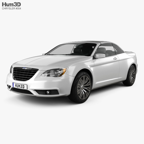 Chrysler 200 Convertible 2011 3D Model