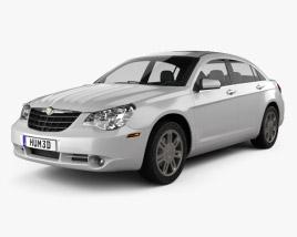 Chrysler Sebring sedan 2007 3D model