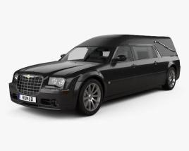 Chrysler 300C hearse 2009 3D model