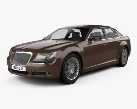 Chrysler 300 C Executive Series 2012 3D model