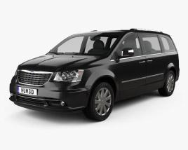 Chrysler Grand Voyager 2011 3D model