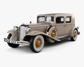 Chrysler Imperial Close Coupled Sedan 1931 3D model
