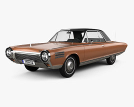 Chrysler Turbine 1963 3D model