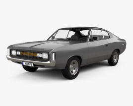 Chrysler Valiant Charger RT 1971 3D model