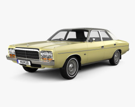 Chrysler Valiant Regal 1978 3D model