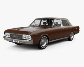 Chrysler Valiant VIP sedan 1969 3D model