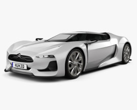 Citroen GT 2008 3D model