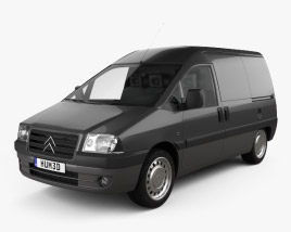 Citroen Jumpy Van 2004 3D model