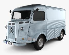 Citroen H Van 1964 3D model