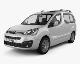 Citroen Berlingo Multispace 2015 3D model