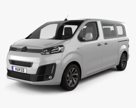 Citroen Spacetourer 2016 3D model