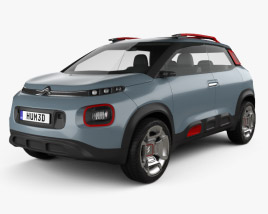 Citroen C-Aircross 2017 3D model