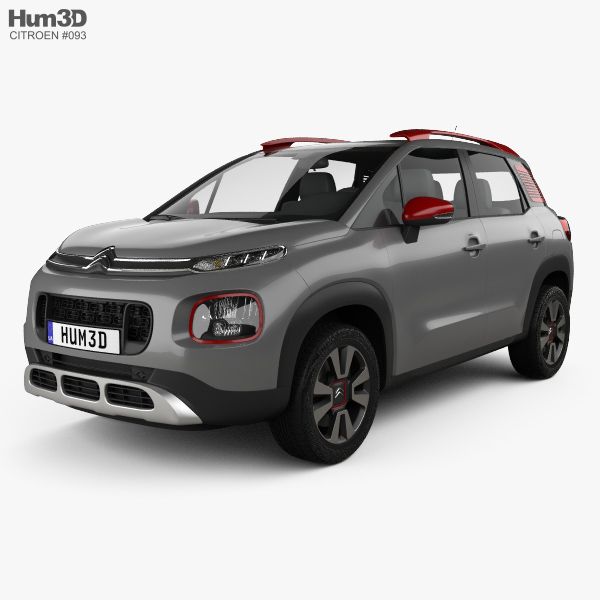 citroen c3 aircross 2018 3d model hum3d. Black Bedroom Furniture Sets. Home Design Ideas