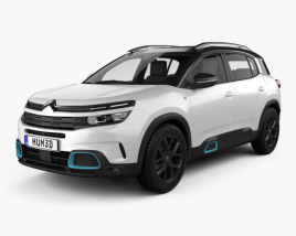 Citroen C5 Aircross Hybrid 2020 3D model