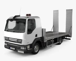 DAF LF Car Transporter 2011 3D model