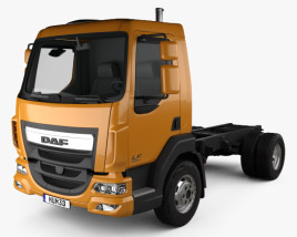 DAF LF 250 Chassis Truck 2013 3D model