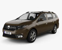 Dacia Logan MCV 2016 3D model