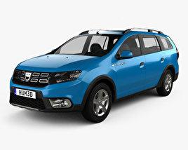 Dacia Logan MCV Stepway 2017 3D model