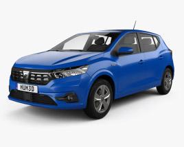 Dacia Sandero 2021 3D model