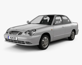 Daewoo Nubira sedan 1999 3D model