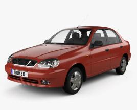 Daewoo Lanos (T100) 1998 3D model