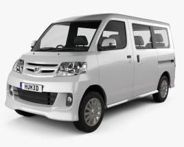 Daihatsu Luxio 2013 3D model