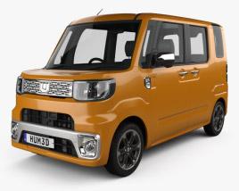 Daihatsu Wake 2015 3D model