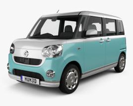 Daihatsu Move Canbus 2016 3D model