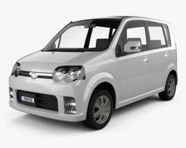 Daihatsu Move Custom 2004 3D model