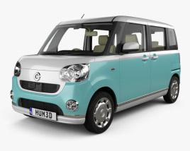 Daihatsu Move Canbus with HQ interior 2016 3D model
