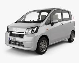 Daihatsu Move with HQ interior 2012 3D model