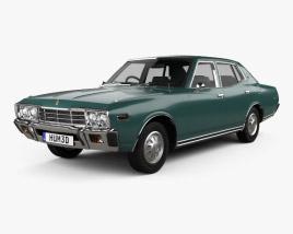 Datsun 280C sedan 1979 3D model