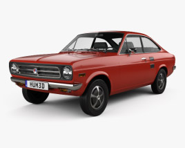 Datsun 1200 coupe 1970 3D model