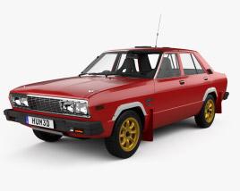 Datsun Stanza 4-door Race car sedan 1977 3D model