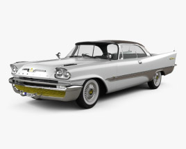 DeSoto Adventurer Hardtop Coupe 1957 3D model