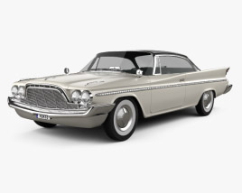 DeSoto Fireflite Hardtop Coupe 1960 3D model